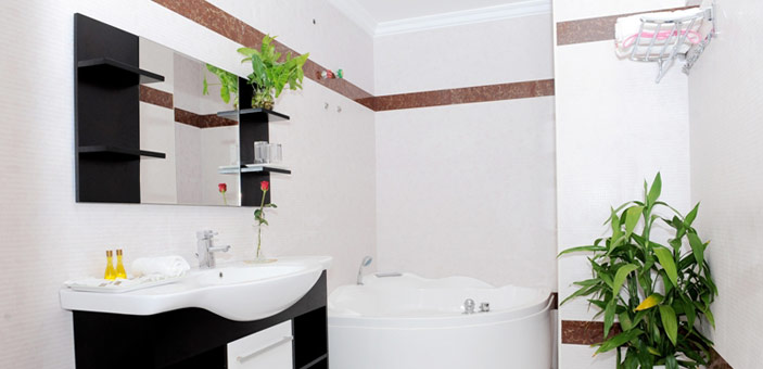 VY CHHE Hotel - Bathroom